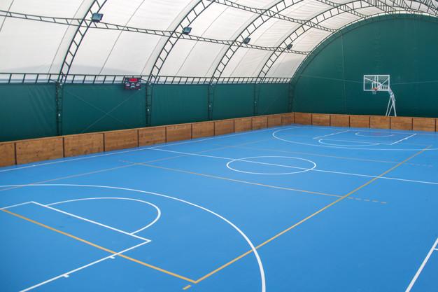 Basketball indoor playcourt