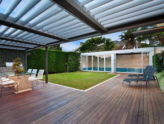 deck flooring installation