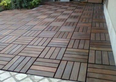 deck tile flooring